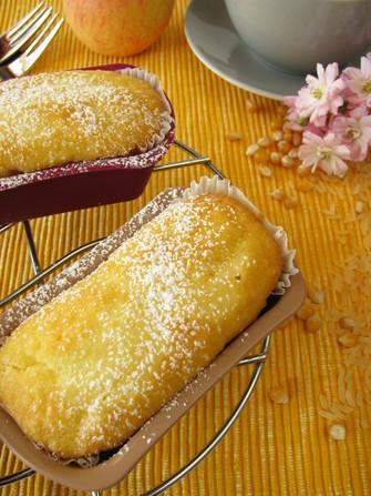 Glutenfreie Kuchen aus Reis- und Maismehl