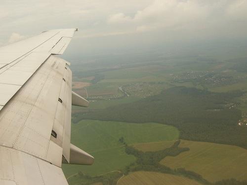Blähungen im Flugzeug